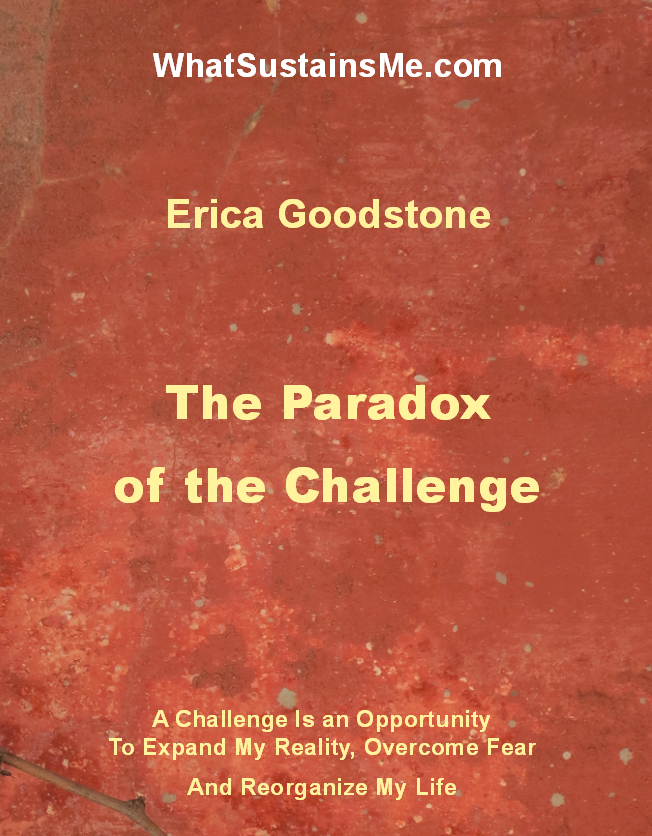 What Sustains Me - The Paradox of the Challenge