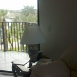 Intracoastal View from Living Room