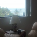 Ocean View from Living Room