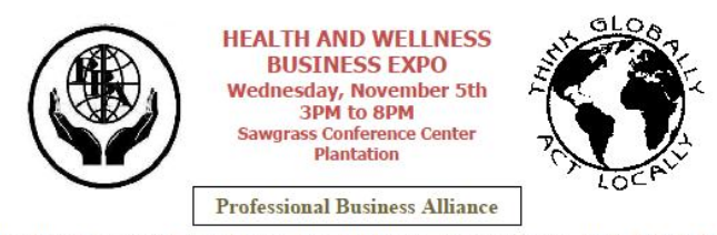 Professional Business Alliance Health and Wellness Expo