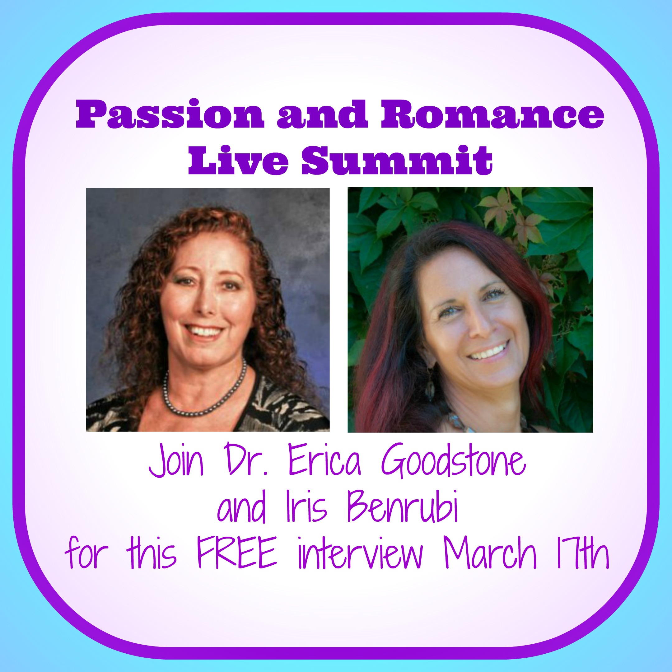 Dr. Erica Interviewed at the Passion and Romance Summit