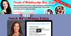 Create A Relationship You Love Summit