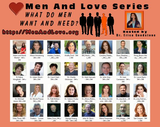 32 Speakers on the Men and Love Series